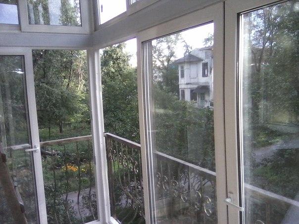 Французские балконы. раздвижные металлопластиковые окна харь.